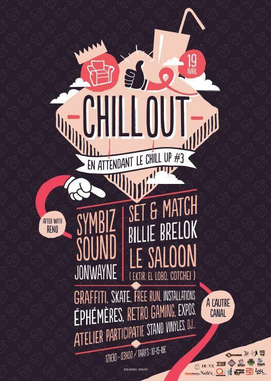 Chill'Out - Samedi 19 avril 2014 - L'Autre Canal - Nancy