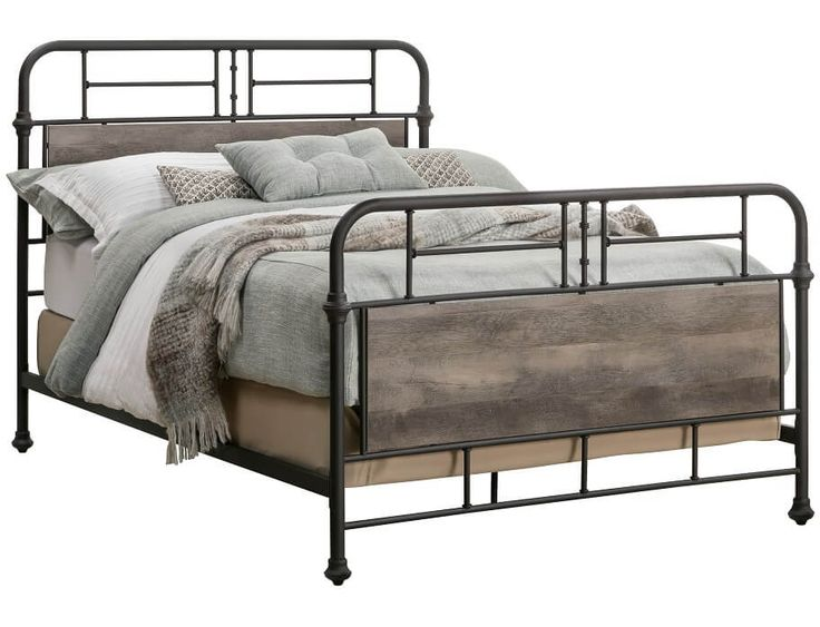 Slumberland | Clearance - Gambrel Collection - Full Metal Bedstead