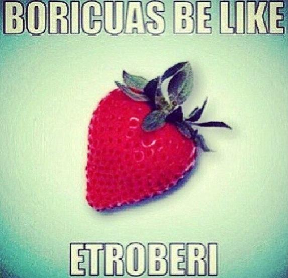 Puerto Rican be like ...Etroberi!