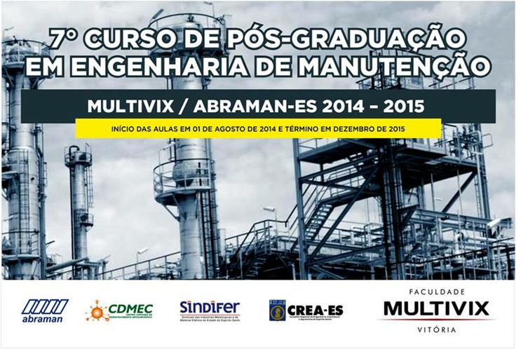 Pós-graduação em Engenharia de Manutençâo ABRAMAN-MULTIVIX (28) 99885-0283