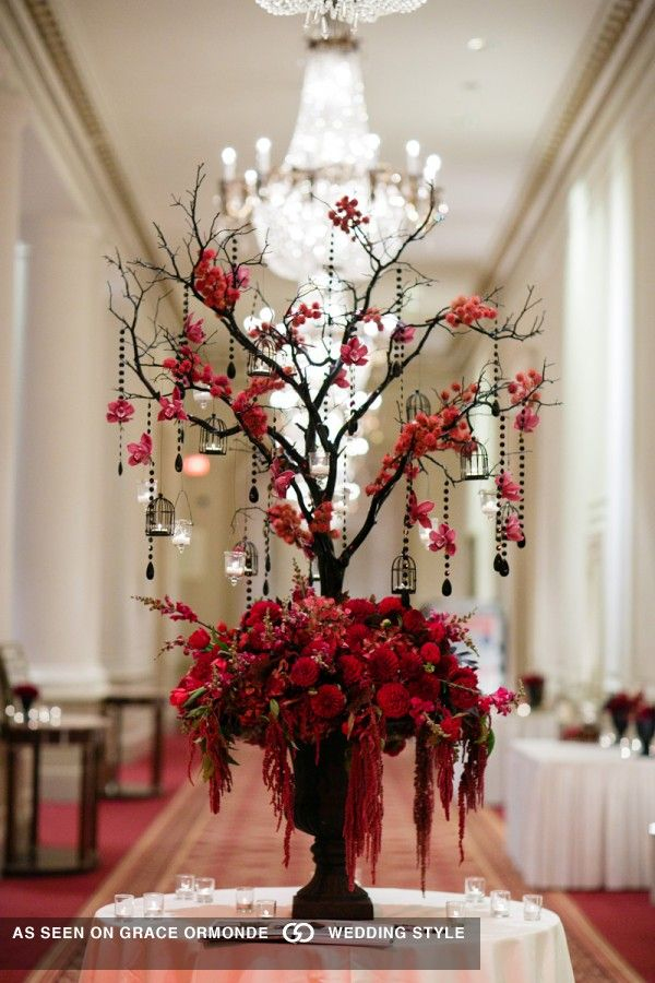 Attractive Best 20+ Gothic Wedding Decorations Ideas On Pinterest | Gothic Wedding  Ideas, Gothic Wedding And Red And Black Table Decorations