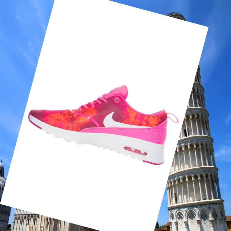 Nike Air Max Thea Print Power Rosa / Bianco / Fire Berry / Arancione Scarpe Da Donna, Fashion trainers will give you special comfort feel ,Never forget it .