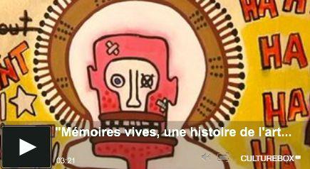 """Un reportage de France O sur l'exposition """"Mémoires Vives. Une Histoire de l'Art Aborigène"""" au musée d'Aquitaine, Bordeaux #artaborigene #contemporain #australie"""