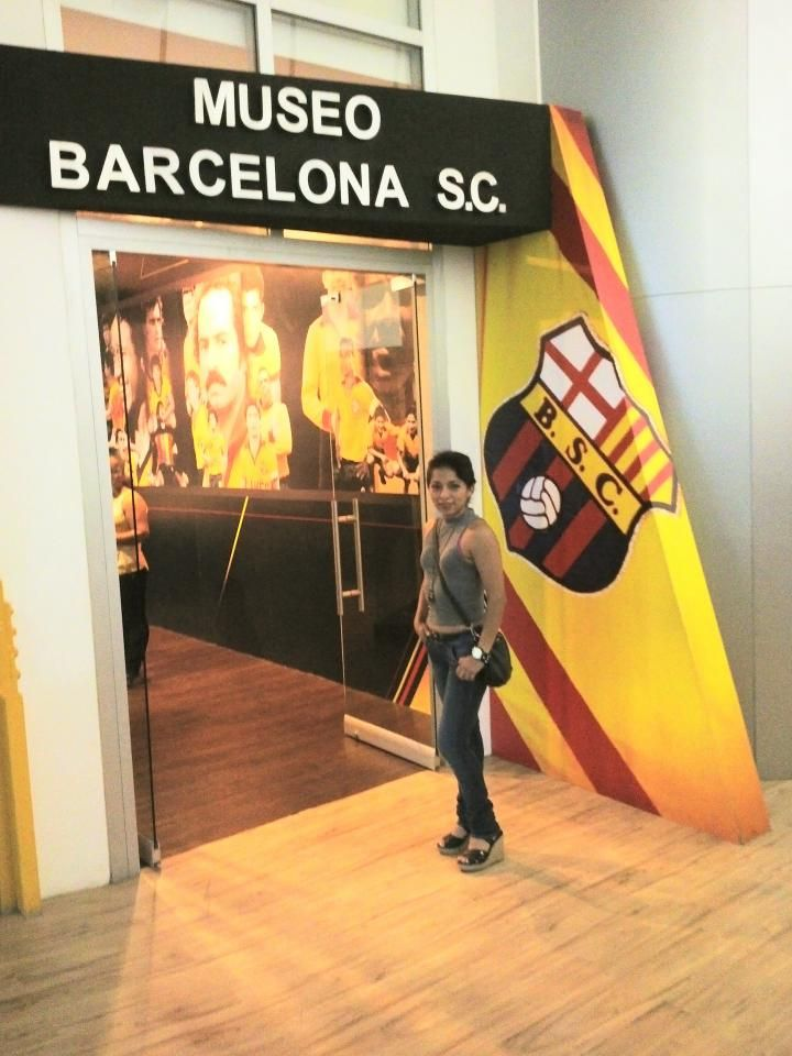 Museo Barcelona Sporting Club in Guayaquil, Guayas