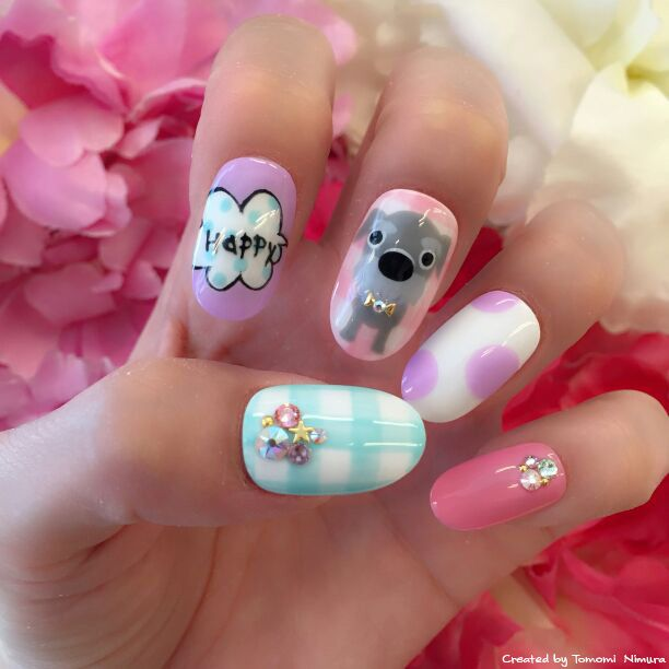 Artlist Collection THE DOG nail art - 131 Best Pet-Inspired Nail Art Images On Pinterest Dog Nail Art