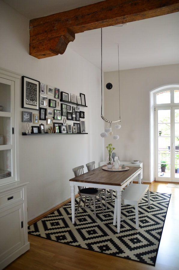 einrichtungsideen esszimmer landhausstil. Black Bedroom Furniture Sets. Home Design Ideas