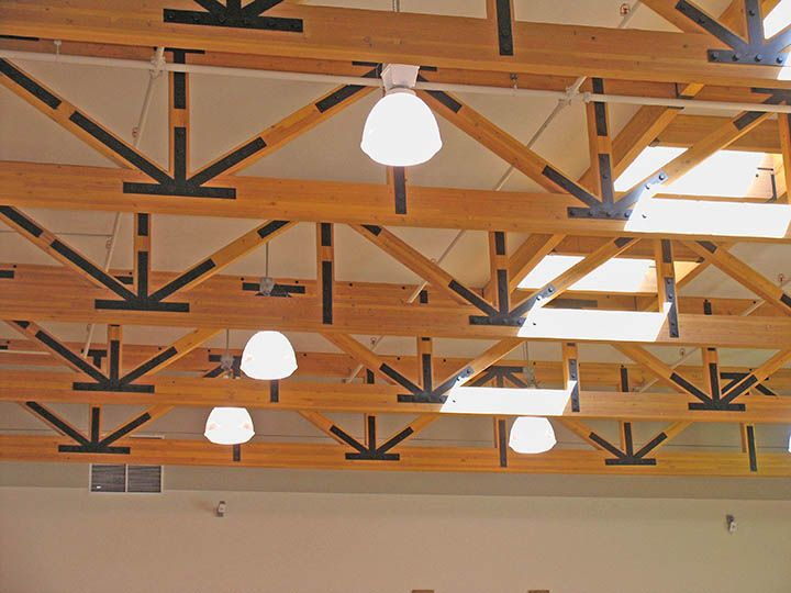 13 best images about heavy timber on pinterest for Pre engineered roof trusses