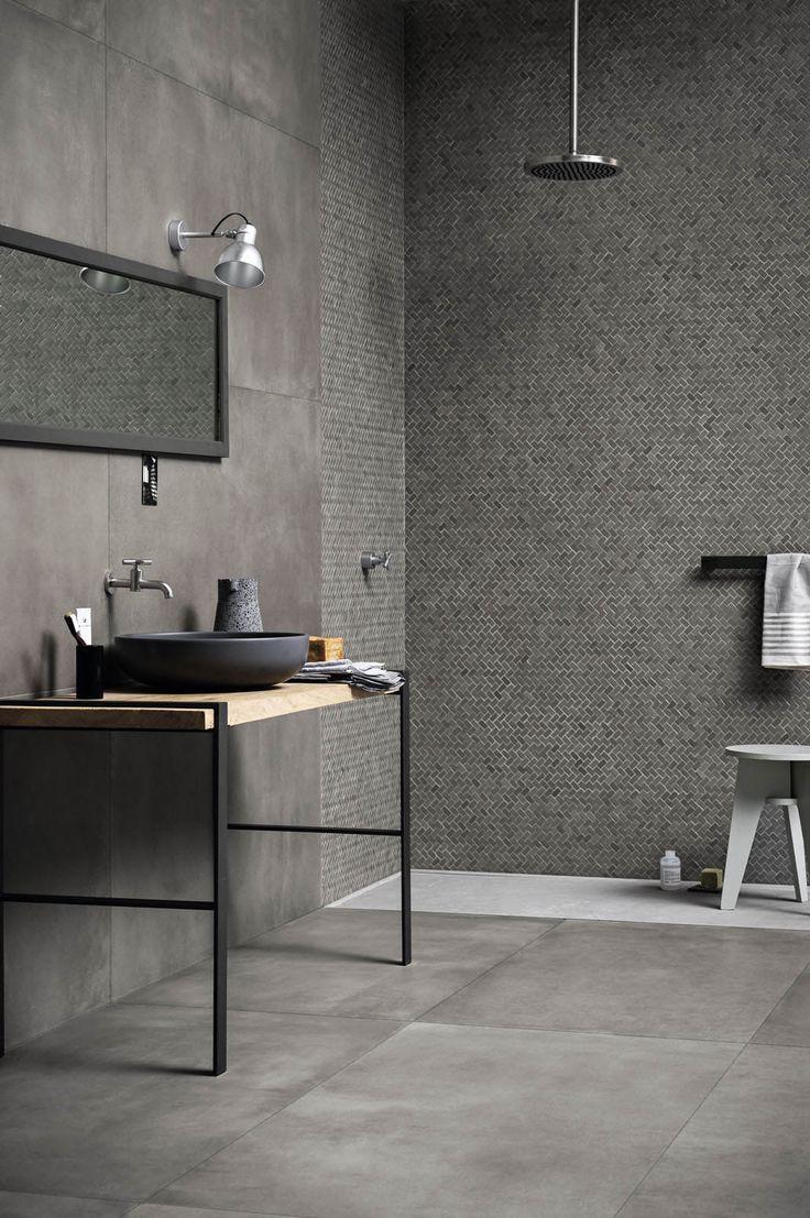 Les 25 meilleures id es concernant carrelage de porcelaine - Cacher carrelage salle de bain ...