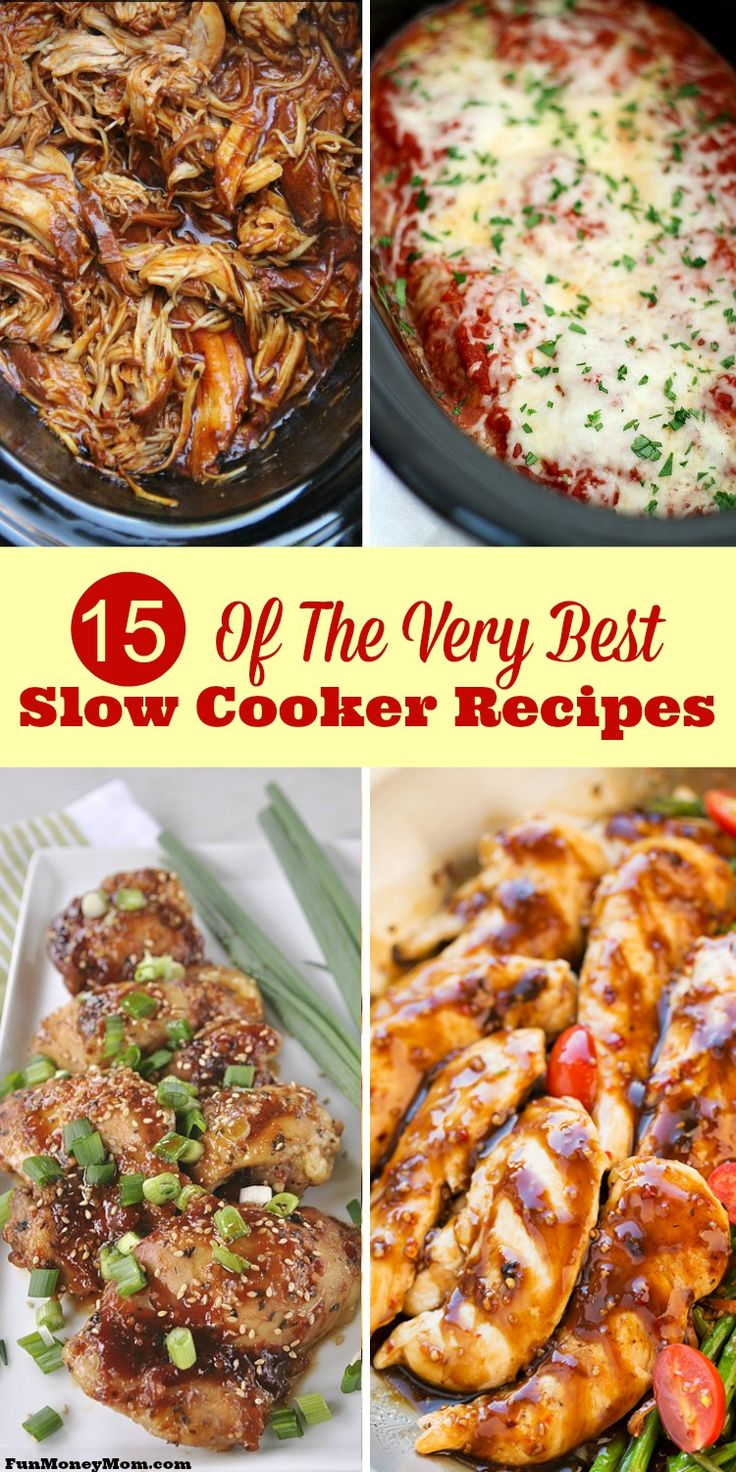 Looking for the very best slow cooker recipes? Once you check these out, you'll want to make crock pot recipes every night of the week!