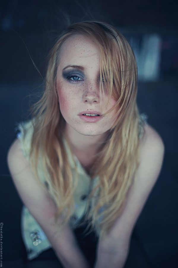 Beautiful Freckles by Basistka.deviantart.com on @DeviantArt