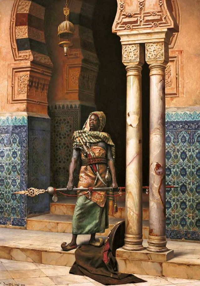 Ludwig Deutsch – The Nubian Guard