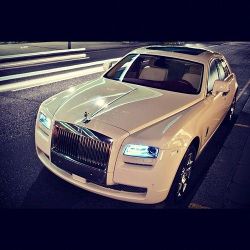 Rolls Royce Ghost. I'd rather be driven in it.....in my dreams ;P
