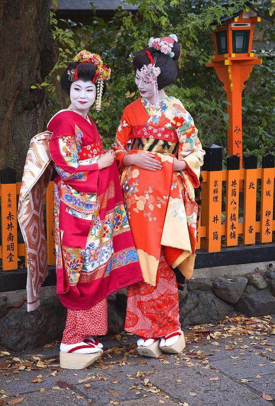 Geishas, Kyoto  Kyoto, Japan