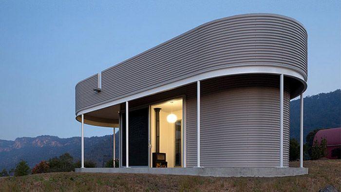 Southern Highlands House je malý bungalov v australském údolí