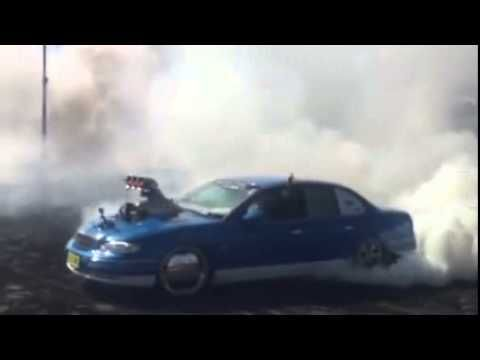 FATWH does burnout at REDCENTRE NATS