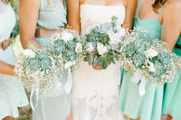 Rustic, sea foam green DIY wedding ~ Daniel Cruz Photography - Best Wedding Blog