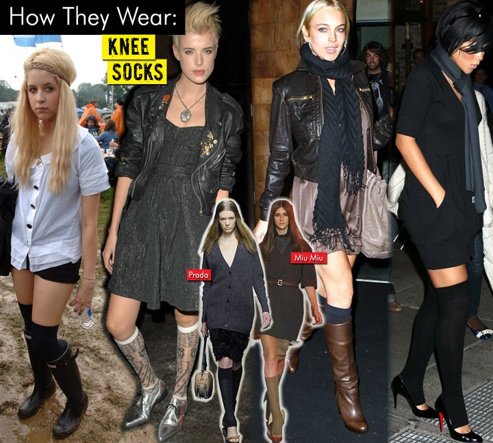 @Allison B, this pin's for you!     but love Agyness Deyn's LBD (second from left)