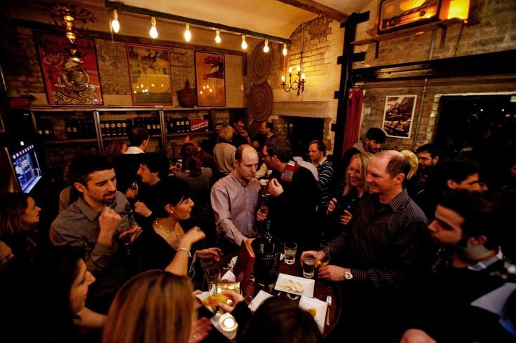 Bar Pepito. Londres.
