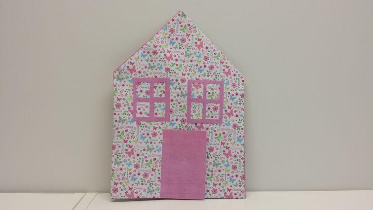 Martan talo. askartelu | kädentaidot | paperi | lasten | lapset | helppo | askarrellaan | kids | children | easy | crafts | Pikku Kakkonen