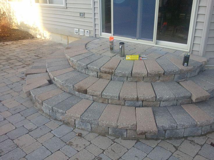 Landscaping Paver Block : Simple paver patio designs brick pavers ann arbor canton