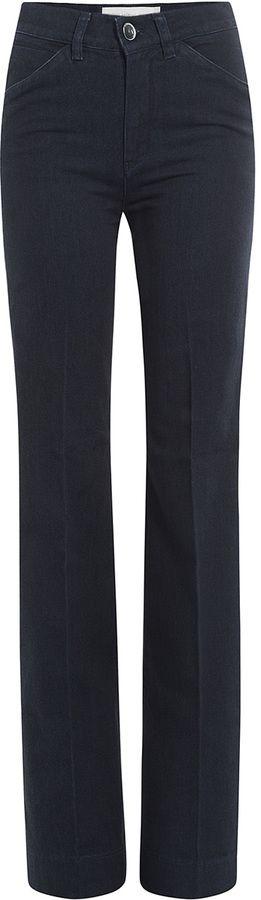 Victoria Beckham Denim Flared Jeans