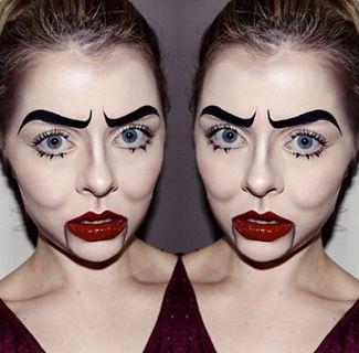 61 best Halloween images on Pinterest | Halloween ideas, Make up ...