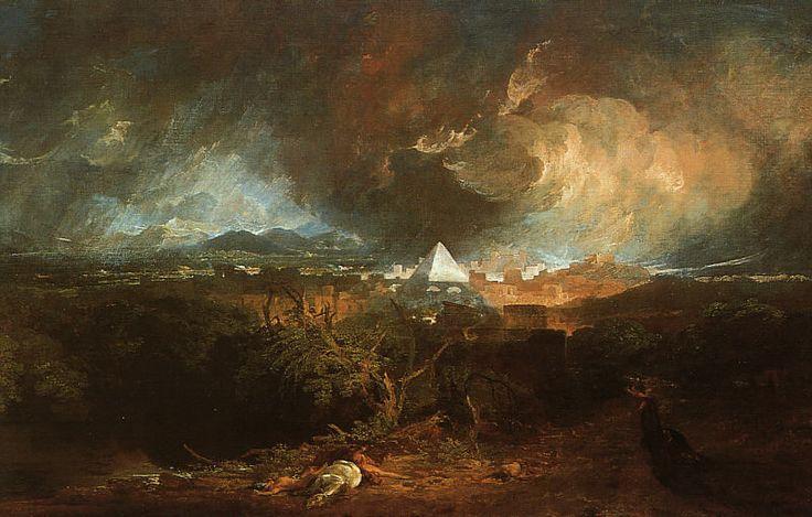 William Turner - La Cinquième Plaie d'Égypte