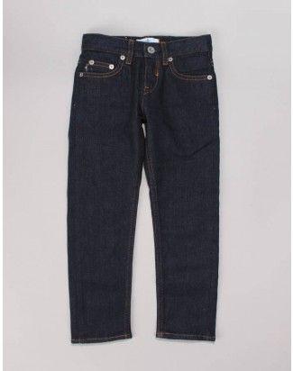Stone Island Junior Unwashed 5 Pocket Denim Jeans