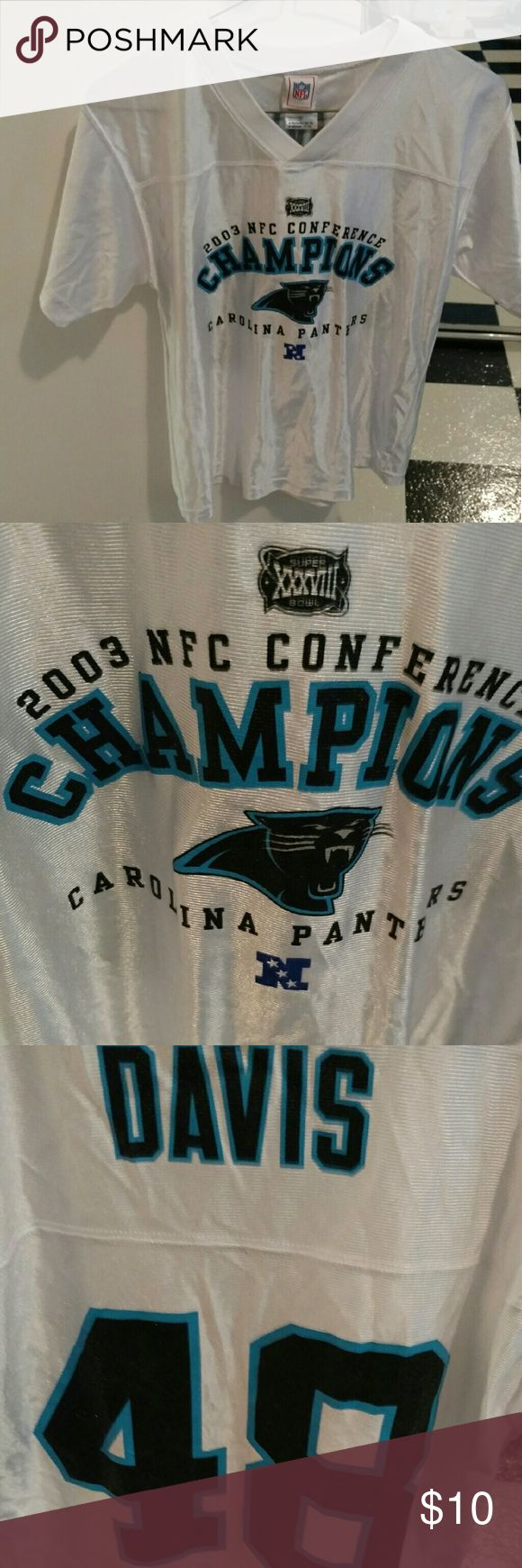 NFL 2003 CAROLINA PANTHERS JERSEY sz M Great condition! NFL Shirts & Tops Sweatshirts & Hoodies