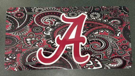 This listing is for one 6x12 metal car tag. The design is imprinted into the plate. It will not fade, peel, or wash off. No stickers are used. Thanks