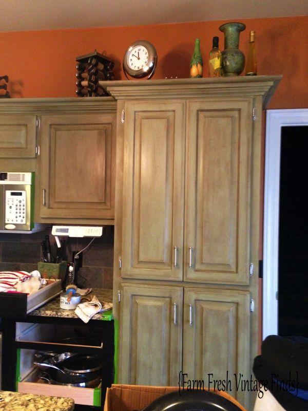 Annie Sloan Kitchen Cabinets Amazing Inspiration Design