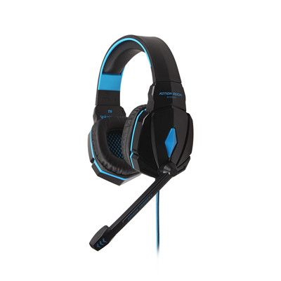 (*** http://BubbleCraze.org - You'll never put this Android/iPhone game down! ***)  KOTION EACH G4000 Stereo Gaming Headphone Top Quality Headsets Headband Computer Game Breathing LED Light + Mic Noise Reduction