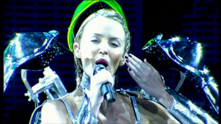 Kylie Minogue's 'Kyborg' costume ('KylieFever2002′ Tour)