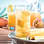 Citrus Mint Iced Tea Nutritional Information Per each of 6 servings: aboutcal 34  pro 0g  total fat 0g  sat. fat 0g   carb 9g  fibre 0g  chol 0mg  sodium 7mg         % RDI:iron 1  folate 5   >> SLOtility.com
