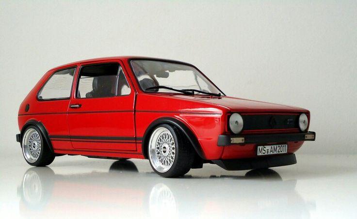 volkswagen golf gti mk1 norev 1 18 scale cars garaje 1. Black Bedroom Furniture Sets. Home Design Ideas