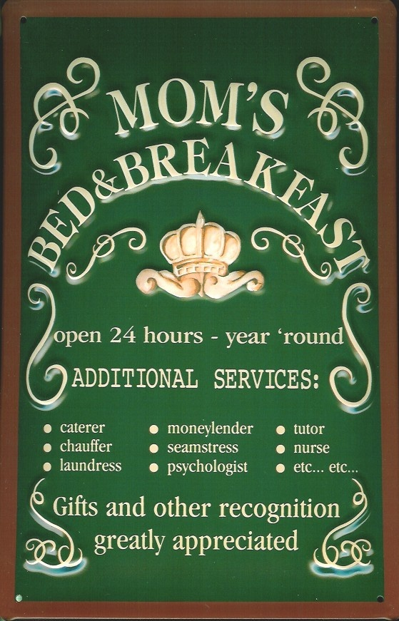 mom's bed and breakfast