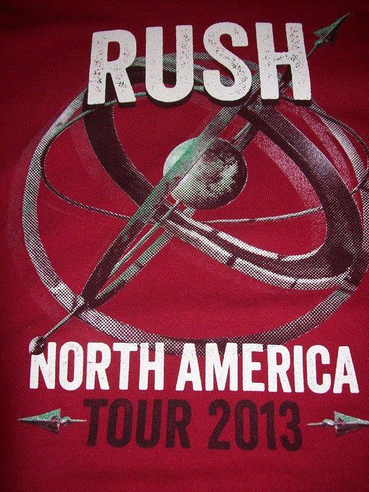Rush World Tour Baseball Jersey