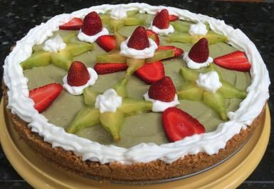 PAY CREMOSO DE AGUACATE (SIN HORNO) // Creamy, dreamy, no-bake avocado pie