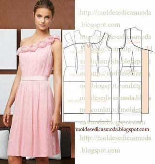 Vestido rosa mula manca -TRANSFORMAÇÃO DE VESTIDO_55
