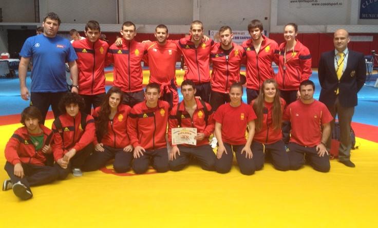 Seleccion española junior lucha olimpica