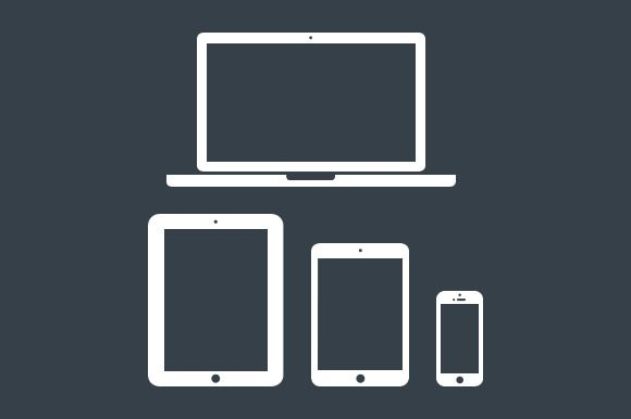 Minimal Apple Device Icons by ThemeTrunk