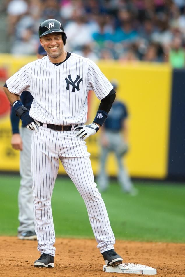 Derek Jeter. Few things are better than a man in pinstripes