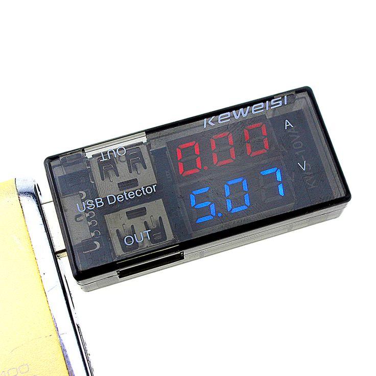 2015 nieuwste USB Stroom Spanning Tester USB Voltage Ammeter USB Detector Dubbele Rij Toont Nieuwe Fabriek prijs DROPSHIPPING