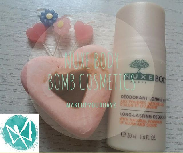 make up your dayz: #Not: Nuxe Body & Bomb Cosmetics