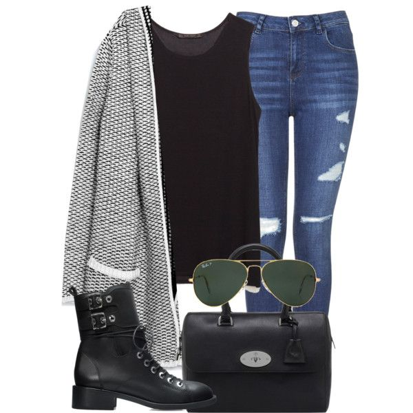 A fashion look from September 2014 featuring Zara cardigans, Zara tops and Topshop jeans. Browse and shop related looks.