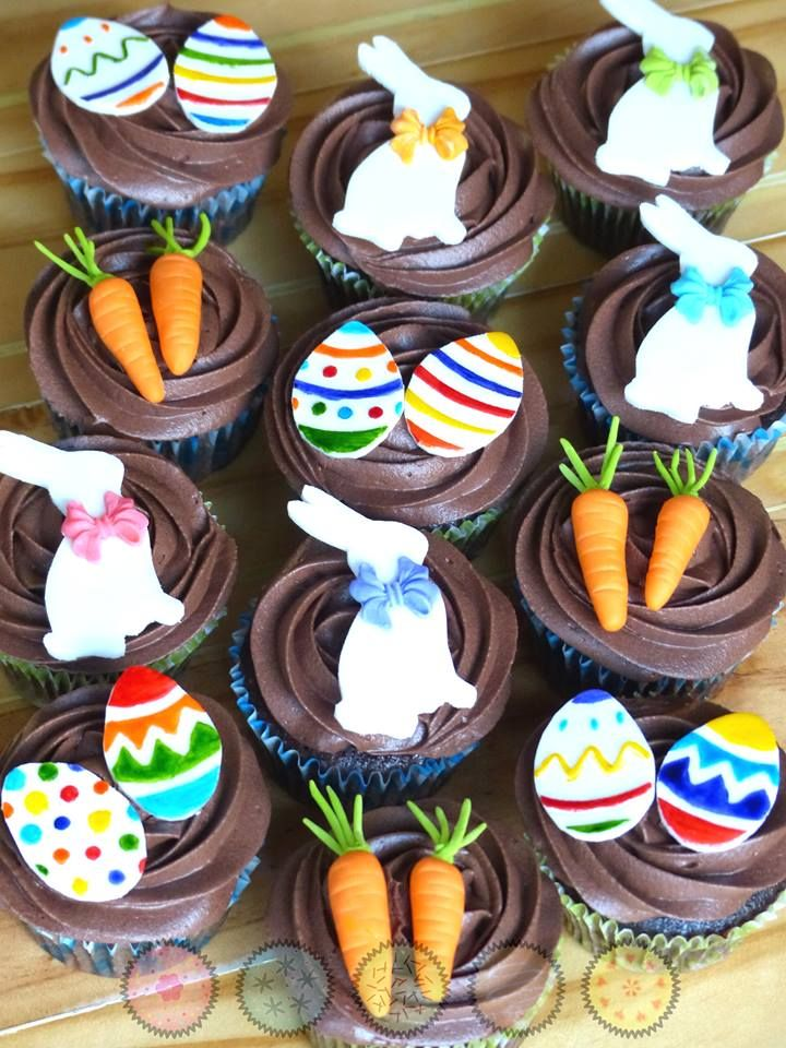 Cupcakes de pascua