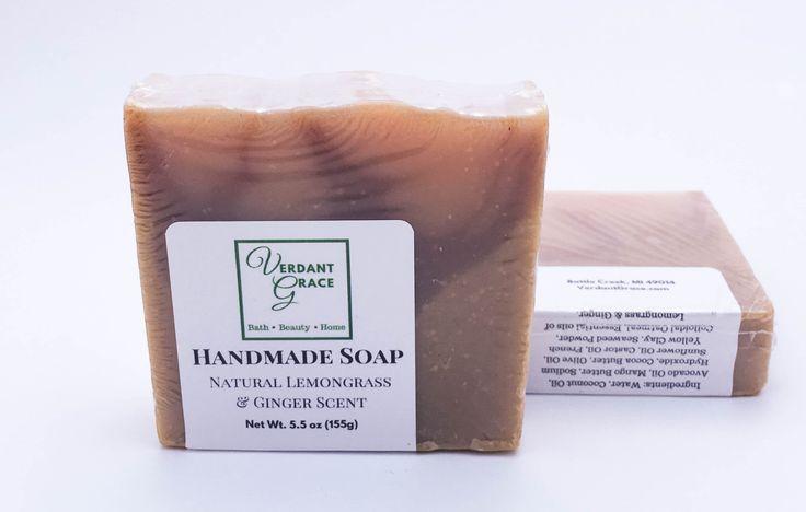 Lemongrass Ginger Soap, 5.25 oz