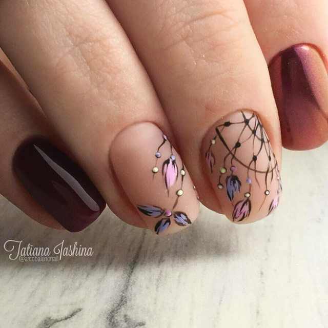 21 Dream Catcher Charming Nails To Release Your Wild Spirit