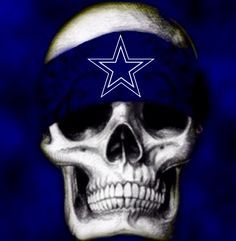Sweet Dallas Cowboys Grim Reaper Anubis Etc 4000 Skull Tabulous