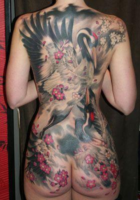 feminine back piece tattoos   Full Back Piece Thread-back2.jpg